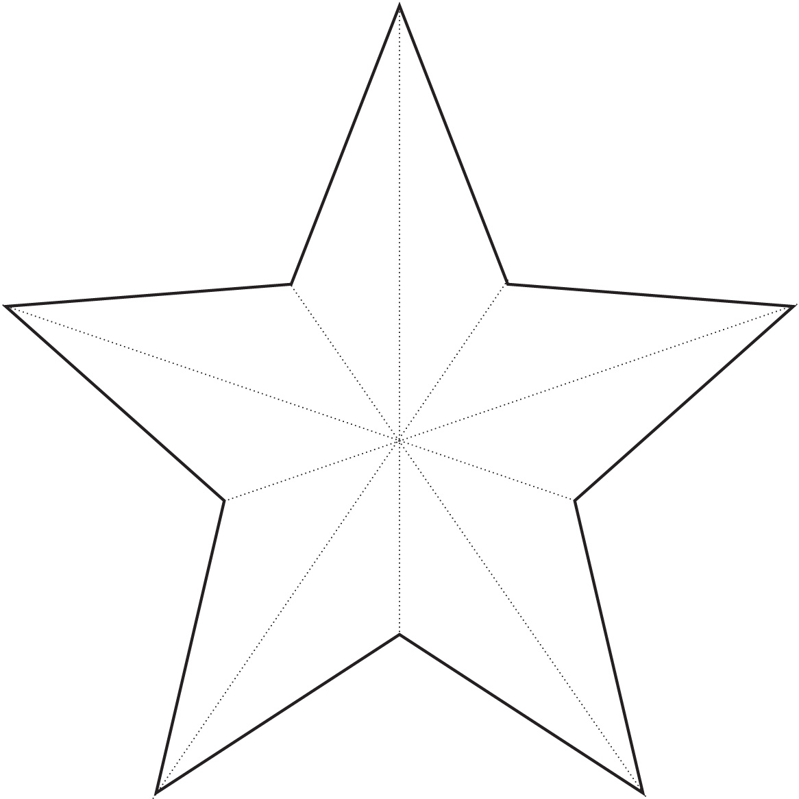 Current image with christmas star printable
