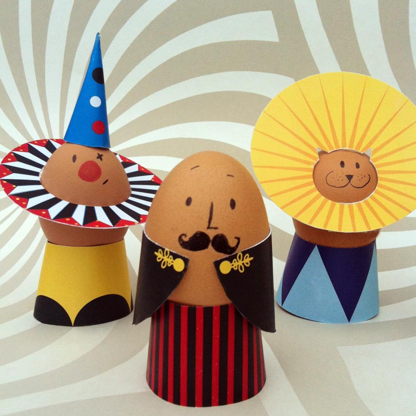 circus egg decorations2