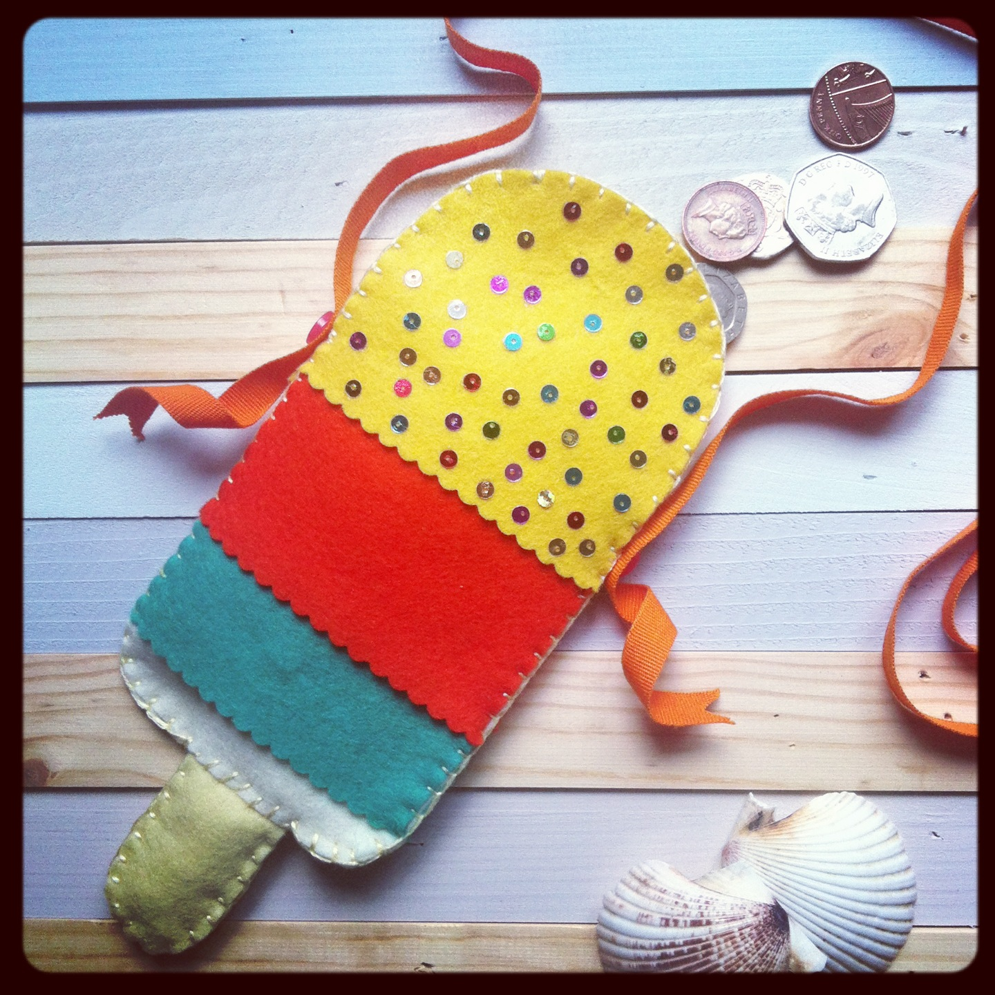 ICe lolly purse