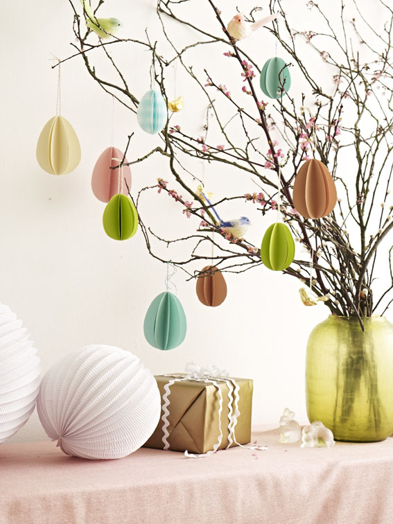paper easter egg decorations