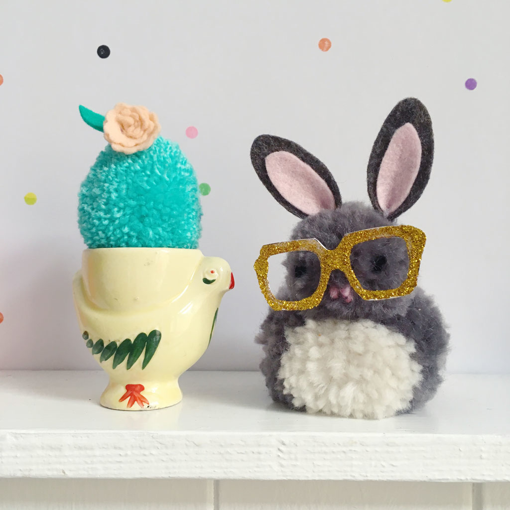 SEWYEAH EASTERPOMPOM BUNNY