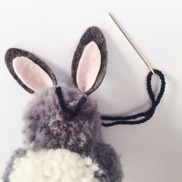 sewyeah easter pompom bunny12