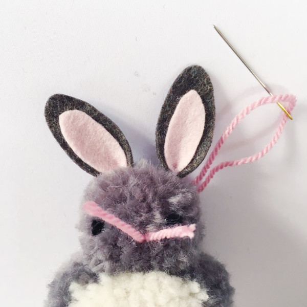sewyeah easter pompom bunny13