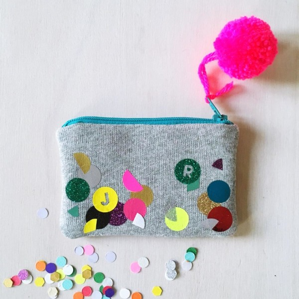 SEWYEAH CONFETTI COIN PURSE 10