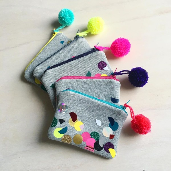 SEWYEAH CONFETTI COIN PURSE 3