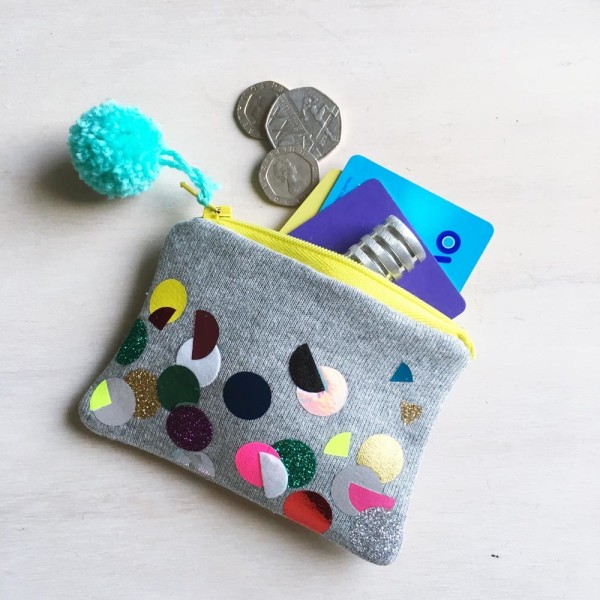 SEWYEAH CONFETTI COIN PURSE 8