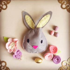 make: Easter bunny bag (ideal for egg hunts)