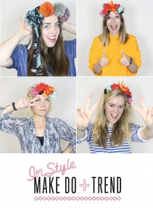 Exclusive! Instyle festival headress craft workshop