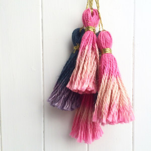 make: no hassle ombre tassels