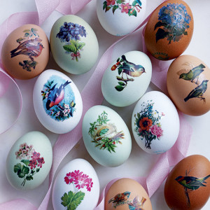 make: Easter Egg Transfer Decorations