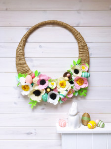 make: Easter wreath
