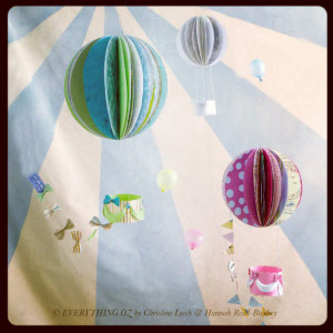 Make: Papercraft Hot Air Balloon From Everything Oz